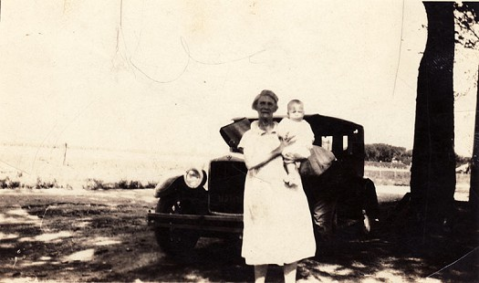Delbert Lee being held by his grandmother, ca. 1928 © Pryor Center for Arkansas Oral and Visual History, University of Arkansas