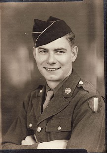 Delbert Lee in WWII US Army uniform, Germany, 1949 © Pryor Center for Arkansas Oral and Visual History, University of Arkansas