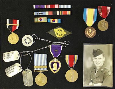 Delbert Lee's US Army memorabilia © Pryor Center for Arkansas Oral and Visual History, University of Arkansas