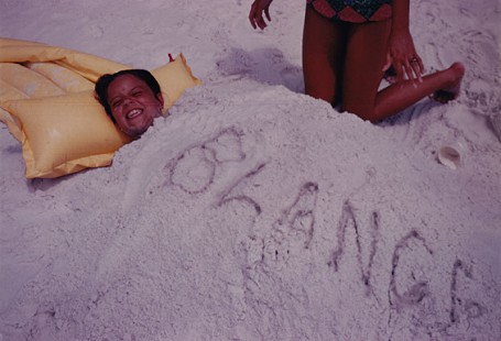 Blanche Lambert Lincoln at the beach in Florida, ca. late 1960s © Pryor Center for Arkansas Oral and Visual History, University of Arkansas