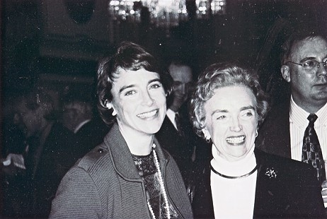 Blanche Lambert Lincoln (left) at her inauguration, with her mother, Martha Lambert; Washington, DC © Pryor Center for Arkansas Oral and Visual History, University of Arkansas