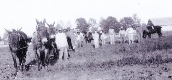 The Lindsey family farm © Pryor Center for Arkansas Oral and Visual History, University of Arkansas