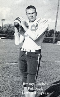 Jim Lindsey; Forrest City High School football photo © Pryor Center for Arkansas Oral and Visual History, University of Arkansas