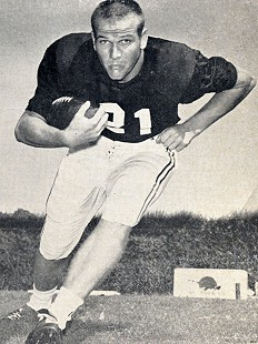 Jim Lindsey; University of Arkansas Razorback football photo © Pryor Center for Arkansas Oral and Visual History, University of Arkansas