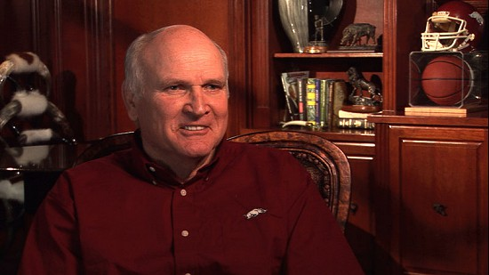 Still frame from Pryor Center video interview with Jim Lindsey at Lindsey & Associates; Fayetteville, Arkansas, 2009 © Pryor Center for Arkansas Oral and Visual History, University of Arkansas
