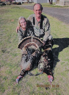 Emon A. Mahony Jr. and his wife, Kay, after a turkey hunt; April 3, 2011 © Pryor Center for Arkansas Oral and Visual History, University of Arkansas