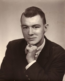 High school portrait of Tommy May © Pryor Center for Arkansas Oral and Visual History, University of Arkansas