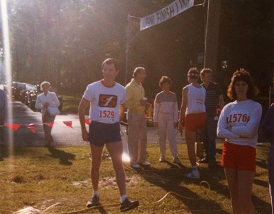 Tommy May at a marathon © Pryor Center for Arkansas Oral and Visual History, University of Arkansas