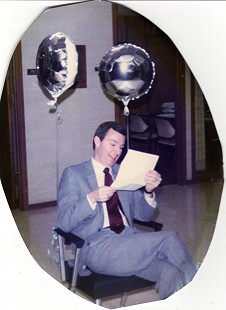 Tommy May on his birthday © Pryor Center for Arkansas Oral and Visual History, University of Arkansas