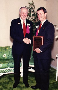 Tommy May (right) with Bill Ramsey © Pryor Center for Arkansas Oral and Visual History, University of Arkansas
