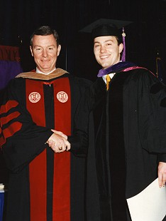 Tommy May at his son's graduation from law school © Pryor Center for Arkansas Oral and Visual History, University of Arkansas