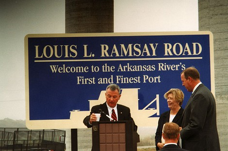Tommy May at Louis L. Ramsay Road event © Pryor Center for Arkansas Oral and Visual History, University of Arkansas