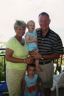 Tommy and Kathryn May with their grandsons © Pryor Center for Arkansas Oral and Visual History, University of Arkansas