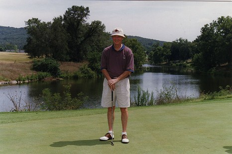 Tommy May playing golf © Pryor Center for Arkansas Oral and Visual History, University of Arkansas