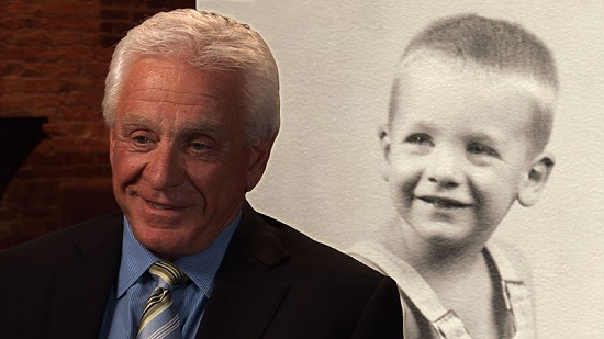 Composite image of early photo of Hayden McIlroy and still frame from Pryor Center video interview © Pryor Center for Arkansas Oral and Visual History, University of Arkansas