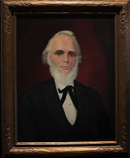 Portrait of Hayden McIlroy's great-grandfather, William McIlroy (1812-1886) © Pryor Center for Arkansas Oral and Visual History, University of Arkansas