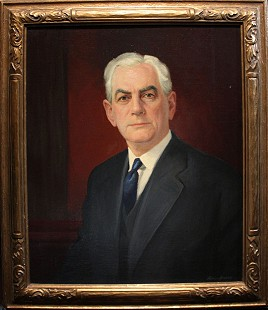 Portrait of Hayden McIlroy Jr.'s grandfather, James Hayden McIlroy (1868-1939) © Pryor Center for Arkansas Oral and Visual History, University of Arkansas