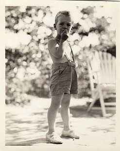 Hayden McIlroy as a young boy © Pryor Center for Arkansas Oral and Visual History, University of Arkansas