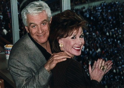 Hayden McIlroy and his wife, Mary Joe McIlroy, at a Dallas Cowboys football game © Pryor Center for Arkansas Oral and Visual History, University of Arkansas
