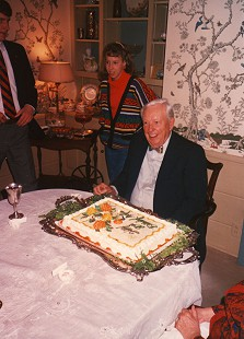 Archie Monroe at his 80th birthday party at his home in Magnolia, Arkansas © Pryor Center for Arkansas Oral and Visual History, University of Arkansas