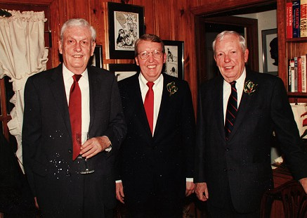 Archie Monroe (right) with Gore Kemp, cousin of Elena Monroe, and Ark Monroe (center), ca. 2001 © Pryor Center for Arkansas Oral and Visual History, University of Arkansas