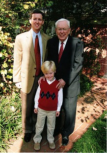 Archie Monroe with his grandson, John, and great-grandson, William, 2006 © Pryor Center for Arkansas Oral and Visual History, University of Arkansas