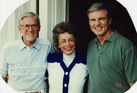 Donald and Peggy Parks with Jim Guy Tucker, former Arkansas governor, July 1996 © Pryor Center for Arkansas Oral and Visual History, University of Arkansas