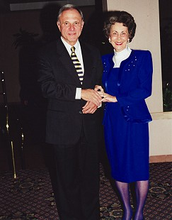 Peggy Murphy Parks with Senator David Pryor at the Arts Center of the Ozarks; Springdale, Arkansas, 1997 © Pryor Center for Arkansas Oral and Visual History, University of Arkansas