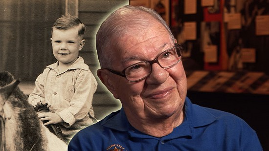 Composite image of early photo of Sonny Payne and still frame from Pryor Center video interview © Pryor Center for Arkansas Oral and Visual History, University of Arkansas