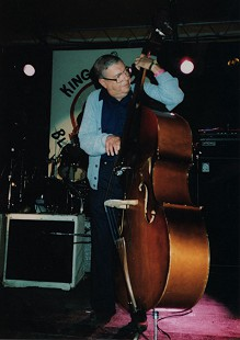 Sonny Payne playing upright bass © Pryor Center for Arkansas Oral and Visual History, University of Arkansas