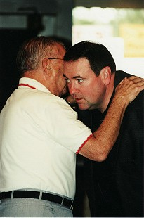 Sonny Payne and Governor Mike Huckabee © Pryor Center for Arkansas Oral and Visual History, University of Arkansas