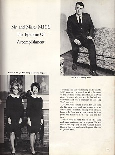 "Yearbook photo of Stanley Reed, ""Mr. Marianna High School,"" 1969 © Pryor Center for Arkansas Oral and Visual History, University of Arkansas"