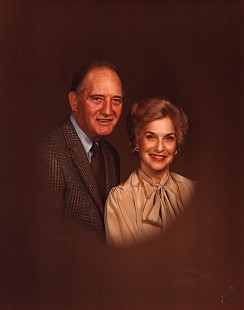Doyle Rogers and his wife, Raye, 1984 © Pryor Center for Arkansas Oral and Visual History, University of Arkansas