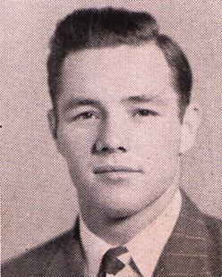 Clyde Scott, senior year, University of Arkansas yearbook, 1948 © University of Arkansas