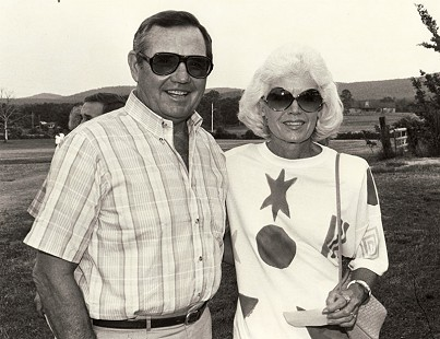 Clyde and Leslie Scott, 1986 © Pryor Center for Arkansas Oral and Visual History, University of Arkansas