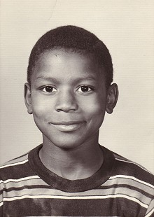 School photo of Rodney Slater, seven years old © Pryor Center for Arkansas Oral and Visual History, University of Arkansas