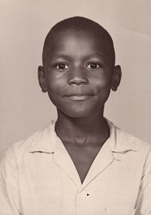 School photo of Rodney Slater, eight years old © Pryor Center for Arkansas Oral and Visual History, University of Arkansas