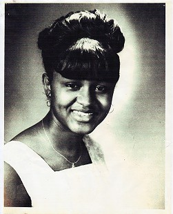 Carolyn Smith-Williams at age 18 in her senior yearbook portrait, ca. 1964 © Pryor Center for Arkansas Oral and Visual History, University of Arkansas