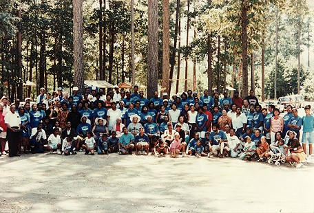 Williams Family Reunion, 1990 © Pryor Center for Arkansas Oral and Visual History, University of Arkansas