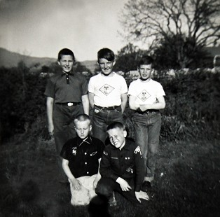 Vic Snyder with his Boy Scout troop © Pryor Center for Arkansas Oral and Visual History, University of Arkansas