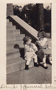 David Solomon and his sister, Hannah Pauline Solomon © Pryor Center for Arkansas Oral and Visual History, University of Arkansas