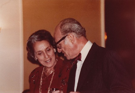 David and Miriam Solomon, Christmas 1982 © Pryor Center for Arkansas Oral and Visual History, University of Arkansas