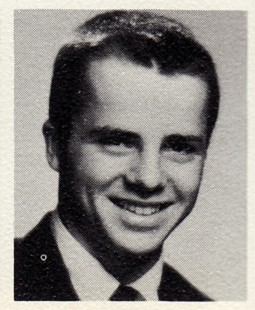 Marty Steele, Fayetteville High School yearbook, <i>The Amethyst</i>, 1962 © Pryor Center for Arkansas Oral and Visual History, University of Arkansas