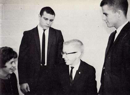 Marty Steele (far right), vice president, with the Fayetteville High School junior-class officers, ca. 1963 © Pryor Center for Arkansas Oral and Visual History, University of Arkansas