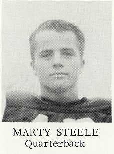 Marty Steele, Fayetteville High School yearbook, <i>The Amethyst</i>, 1963 © Pryor Center for Arkansas Oral and Visual History, University of Arkansas