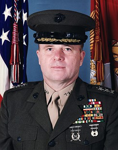 Lieutenant General Martin R. Steele                         © Pryor Center for Arkansas Oral and Visual History, University of Arkansas
