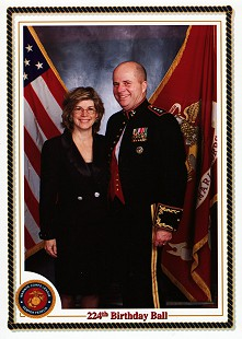 Marty and Cindy Steele, US Marine Corps Birthday Ball, 1999 © Pryor Center for Arkansas Oral and Visual History, University of Arkansas