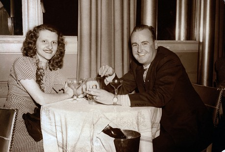 Dorothy Davis and Howard Stuck on the night of their engagement; Peabody Hotel, Memphis, Tennessee; February 1946 © Pryor Center for Arkansas Oral and Visual History, University of Arkansas