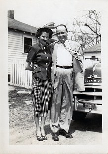 Dorothy and Howard Stuck in Marked Tree, Arkansas, 1950 © Pryor Center for Arkansas Oral and Visual History, University of Arkansas