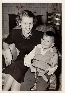 "Dorothy Stuck with her son, Howard ""Buz"" Stuck III, 1954 © Pryor Center for Arkansas Oral and Visual History, University of Arkansas"